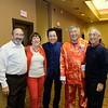 Roger and Marilynne Wilander, Arcadia Mayor Sho Tay, Isaac Hung and South Pasadena Mayor Pro Tem Robert Joe