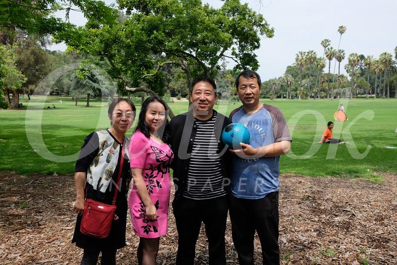 Olivia Yu, Laura Li, John Liu and Ken Liu