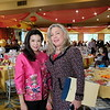 Lindsey Huang and Mayor Gretchen Shepherd Romey