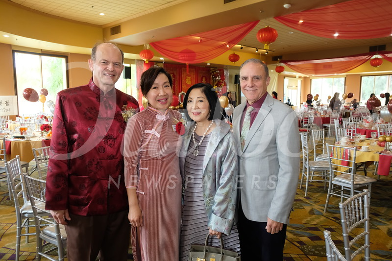 Paul and Annie Brassard, Becki Lei and Chuck Funaro