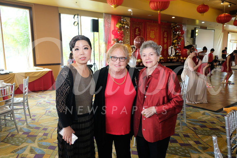 Eileen Gao, Jo Anne Kindler and Marilyn Peck