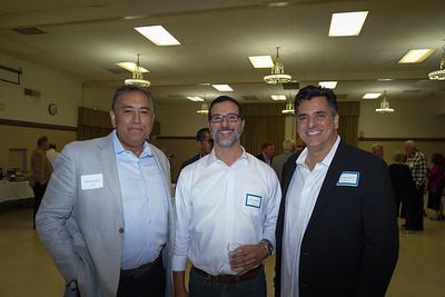 Edward Uriarte, Jim Tripodes and Louis Pastis