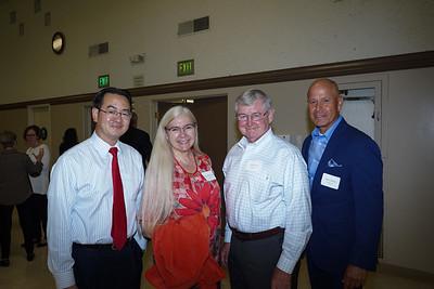 David Wang, Denise Wadsworth, Bill Payne and Mario Rueda
