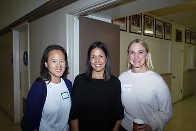 Jane Chon, Gabrielle Carlton and Christa Lakon