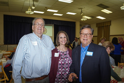 Bill Stinde, Tori Hutchins Stinde and B.G. Heideman