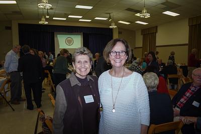 Anne Hogeboom and Jane Brunette