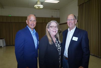 Mario Rueda, Irene McDermott and Jerry Hawk