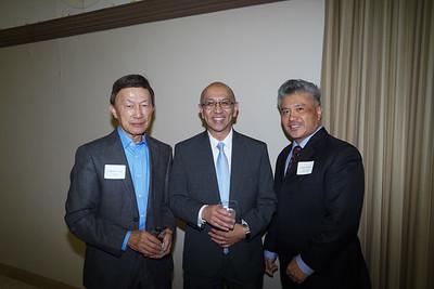 Eugene Sun, Oscar Wei and Frank Chen