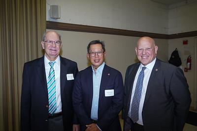 Chris Norgaard, Robert Tam and John Incontro