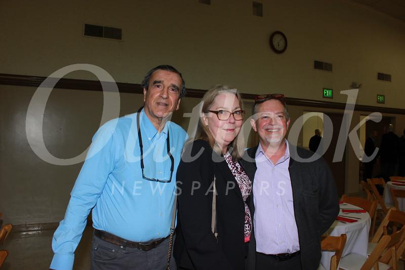 Dennis Magrdichian, Irene McDermott and Michael Throne