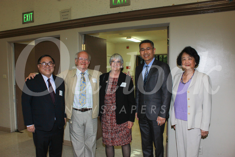 C. Joseph Chang, Dr. Michael and Liz Harrington, Michael Lin and Marina Wang