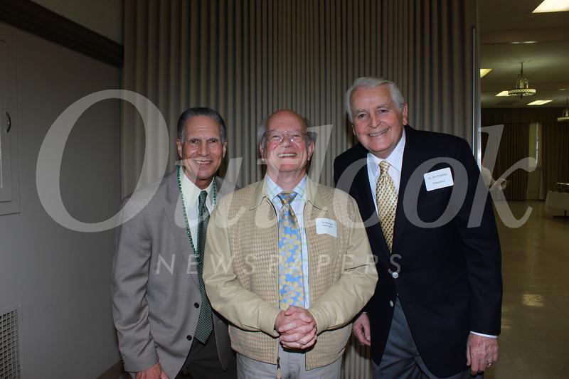Loren Kleinrock, Dr Michael Harrington and Dr Jim Angelos