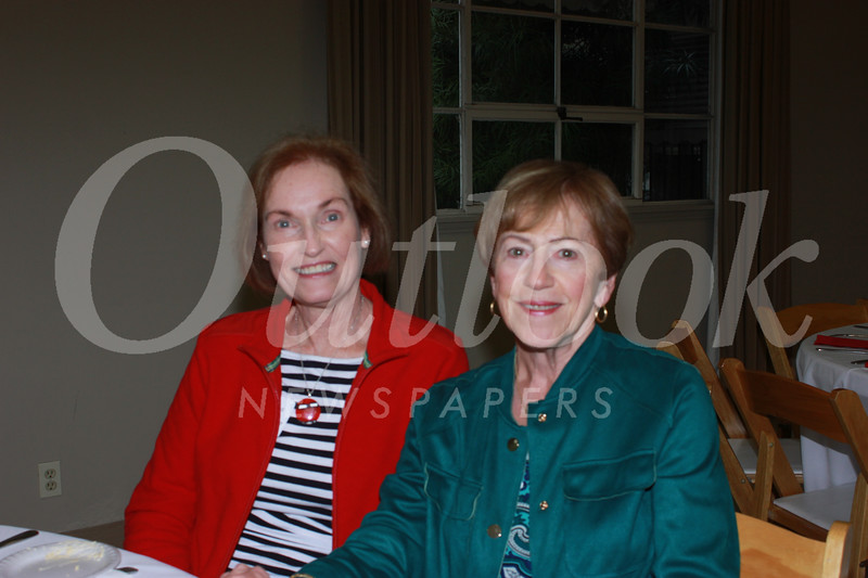 Virginia Randall and Laureen Latimer
