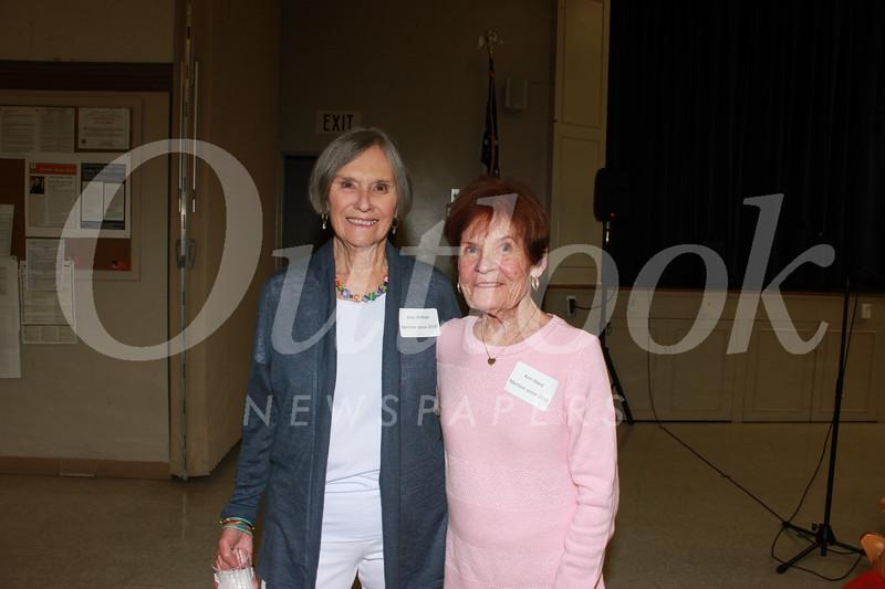 Jean Willhite and Ann Ward