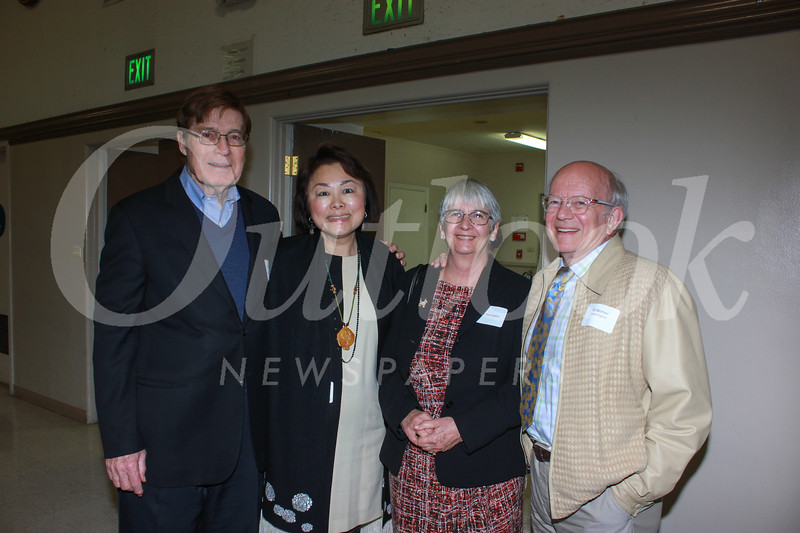 Brian McMahon, Janice Lee McMahon with Liz and Dr. Michael Harrington