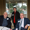 Dr. Fredrick Milkie, Marilyn Peck and Dr. Gus Roumani
