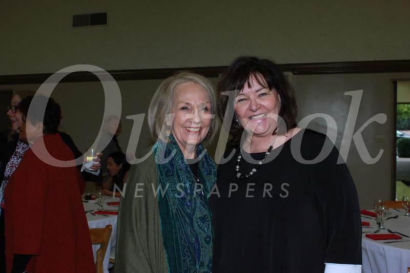 Consuelo Moran-Romero and Susan Stonerey