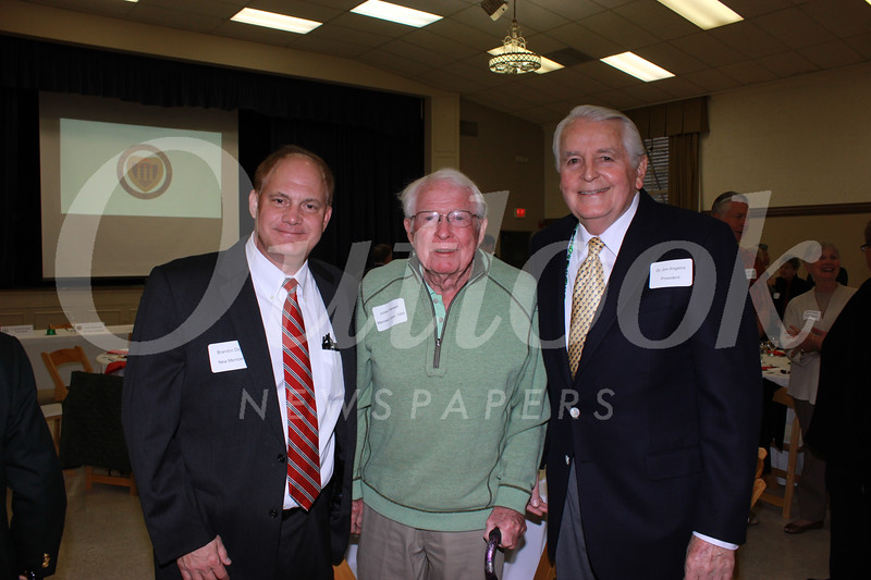 Brandon Day, Julian Harwell and Dr. Jim Angelos