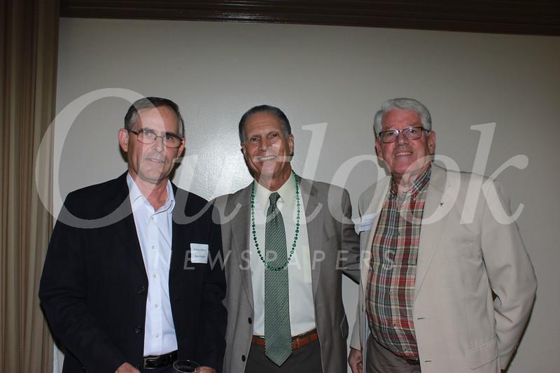 Anthony Binley, Loren Kleinrock and John Morris