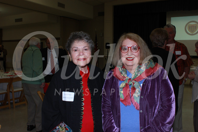 Marilyn Park and Katherine Tripodes