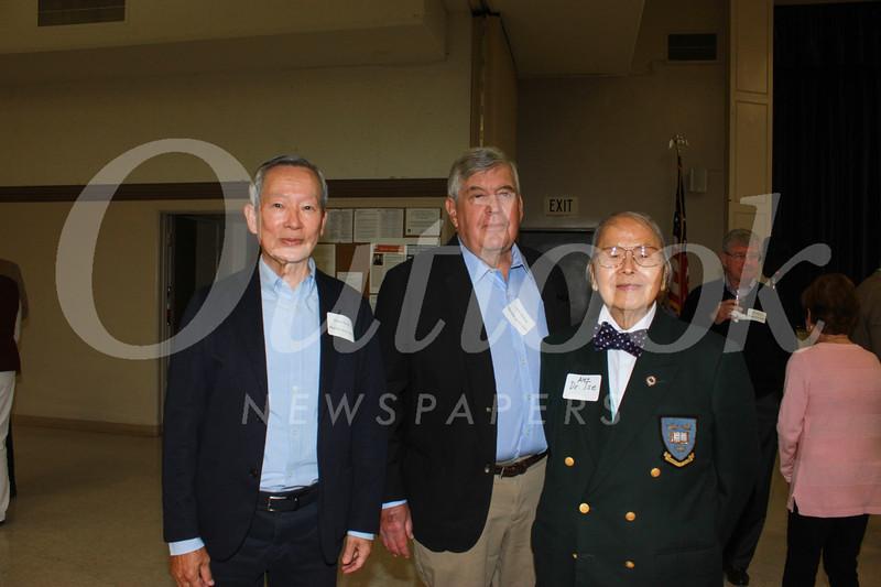 Shody Chow, Lynn Willhite and Dr.  Alex Tse
