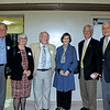 Bob Houston, Liz and Dr.  Michael Harrington, Anne Herold, Dan Biles and Dr. Jim Angelos