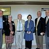 Bob Houston, Liz and Dr.  Michael Harrington, Anne Herold, Dan Biles and Dr. Jim Angelos