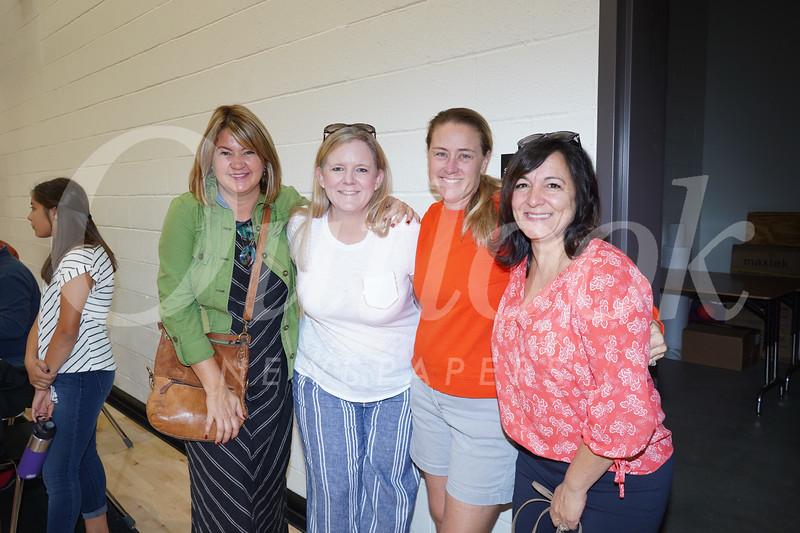Marci Wendling, Jennifer Barberie, Erin Bilvado and Nicolette Fuerst