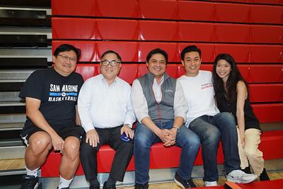 David Wang, C. Joseph Chang, Calvin Lo, Tony Chou and Cory Lai