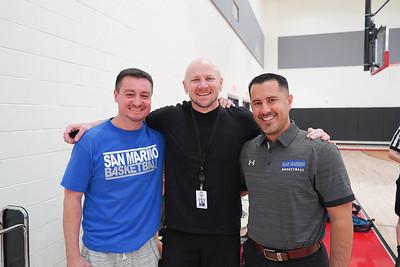Brandon Garner, Jason Kurtenbach and Mihail Papadopulos