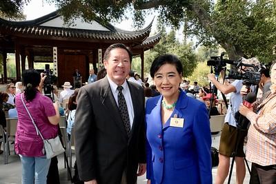 John Chou and Congresswoman Judy Chu