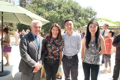 Jim Fry, Sarah Curran, Nathan Lai and Lin Han