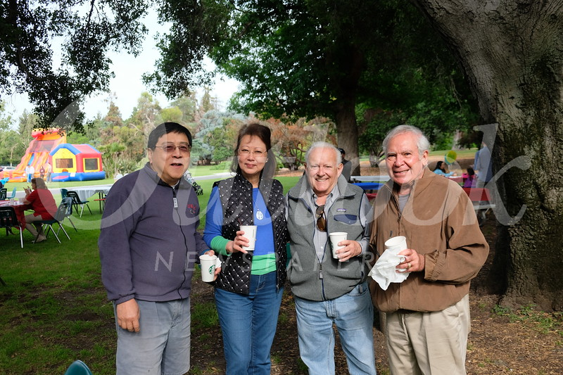 Philip and Irene Lao, Dave Bryan and Mike Habib