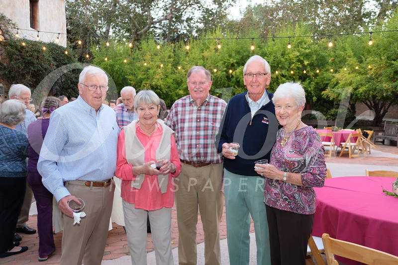 Charley and Jan Haupt, Bob Houston, and Jim and DeeDee Brewer
