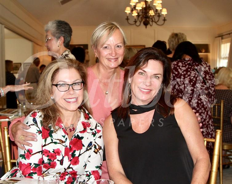 Lynette Sohl, Petra Goldsmith and Birgit Woodward