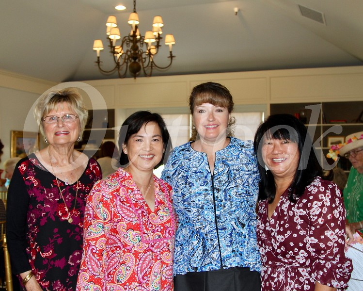 Evelyn Pederson, Lisa Wong, Justene Pierce and Mary Swanton