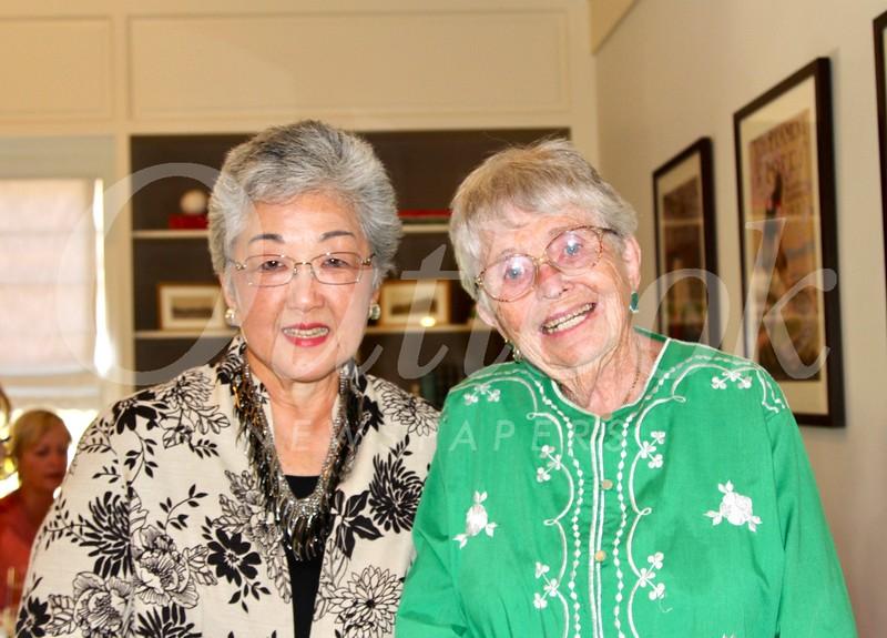Linda Parmenter and Mary Modjeski