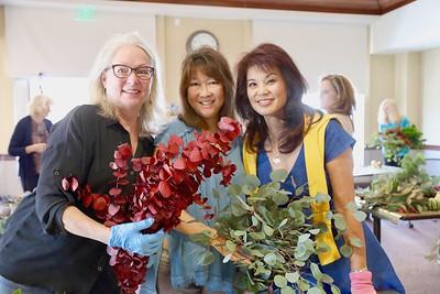 Kathleen Bescoby, Linda SooHoo-Dang and Patricia Tom Mar