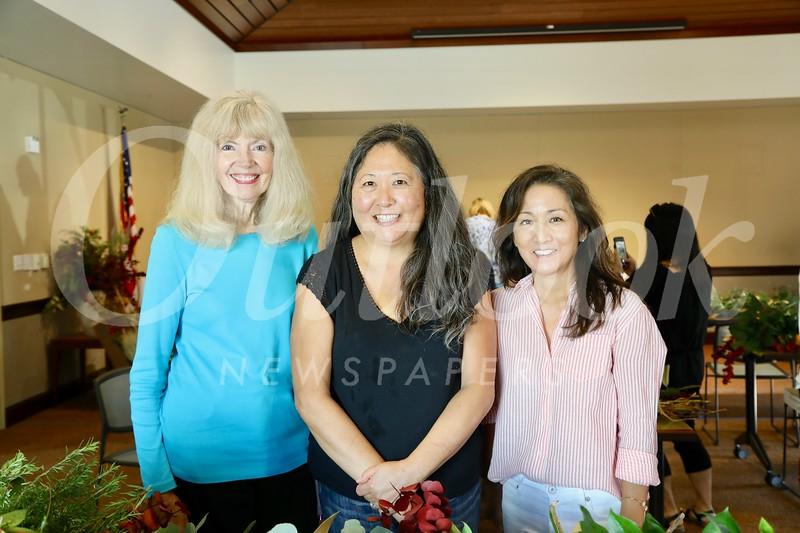 Sandy Dimkich, Marian Dundas and Karen Quon