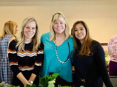 Alison Moller, Alison McCrary and Dina McCall