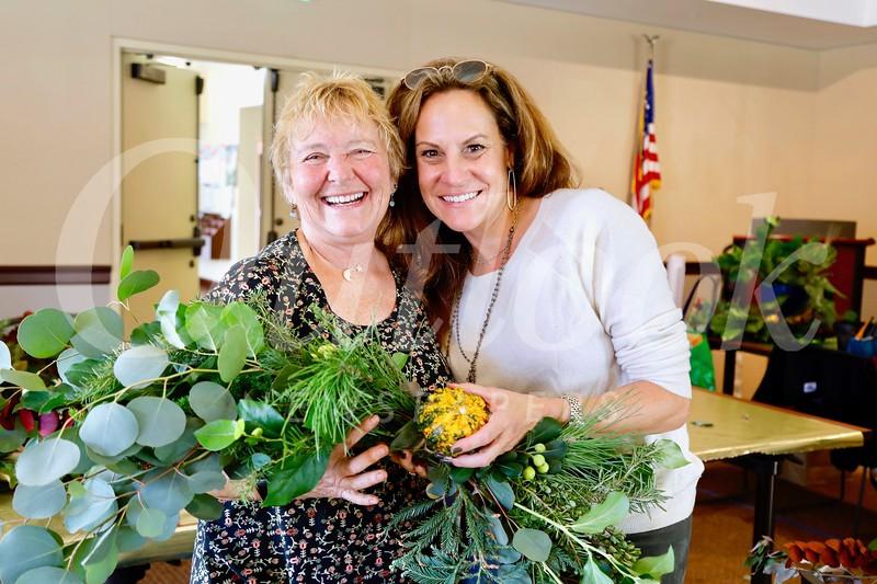 Elizabeth Butterfield and Lori Cuccia