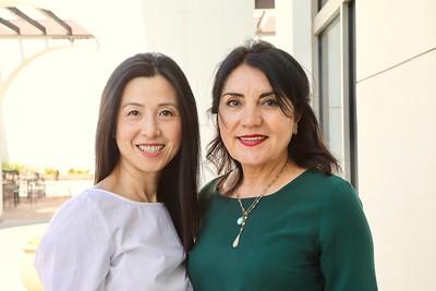 Genevieve Chien and Shana Bayat