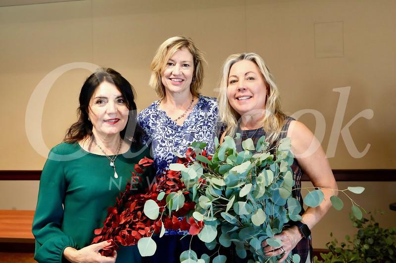 Shana Bayat, Debra Spaulding and Gretchen Shepherd Romey