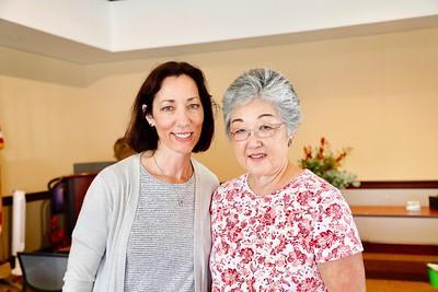 Connie Knott and Linda Permenter
