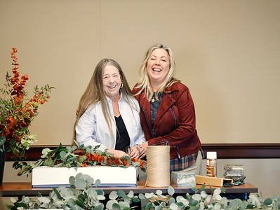Margit Holakoui and Gretchen Shepherd Romey