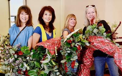 Linda SooHoo-Dang, Patrica Tom Mar, Maria DeJesu and Kathleen Bescoby