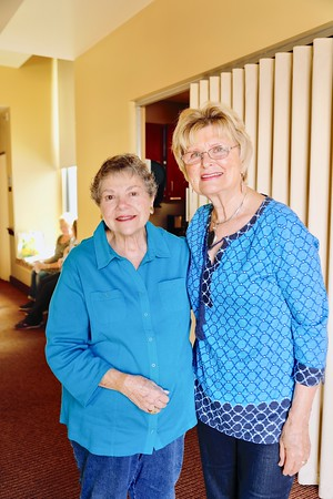 Marilyn Peck and Evelyn Pederson