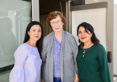 Genevieve Chien, Gretchen Notley and Shana Bayat