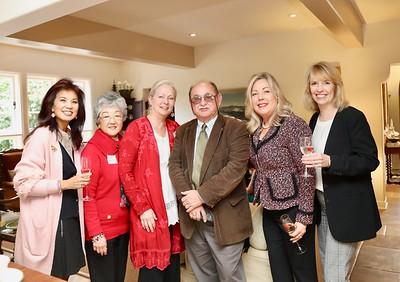 Patricia Tom Mar, Linda Parmenter, Kathleen Bescoby, Jim Folson, Gretchen Shepherd Romey and Kathy Bayle