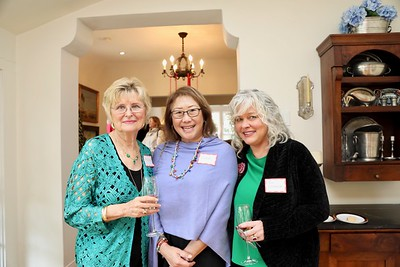 Evelyn Pederson, Diana David and Ren Leftwich